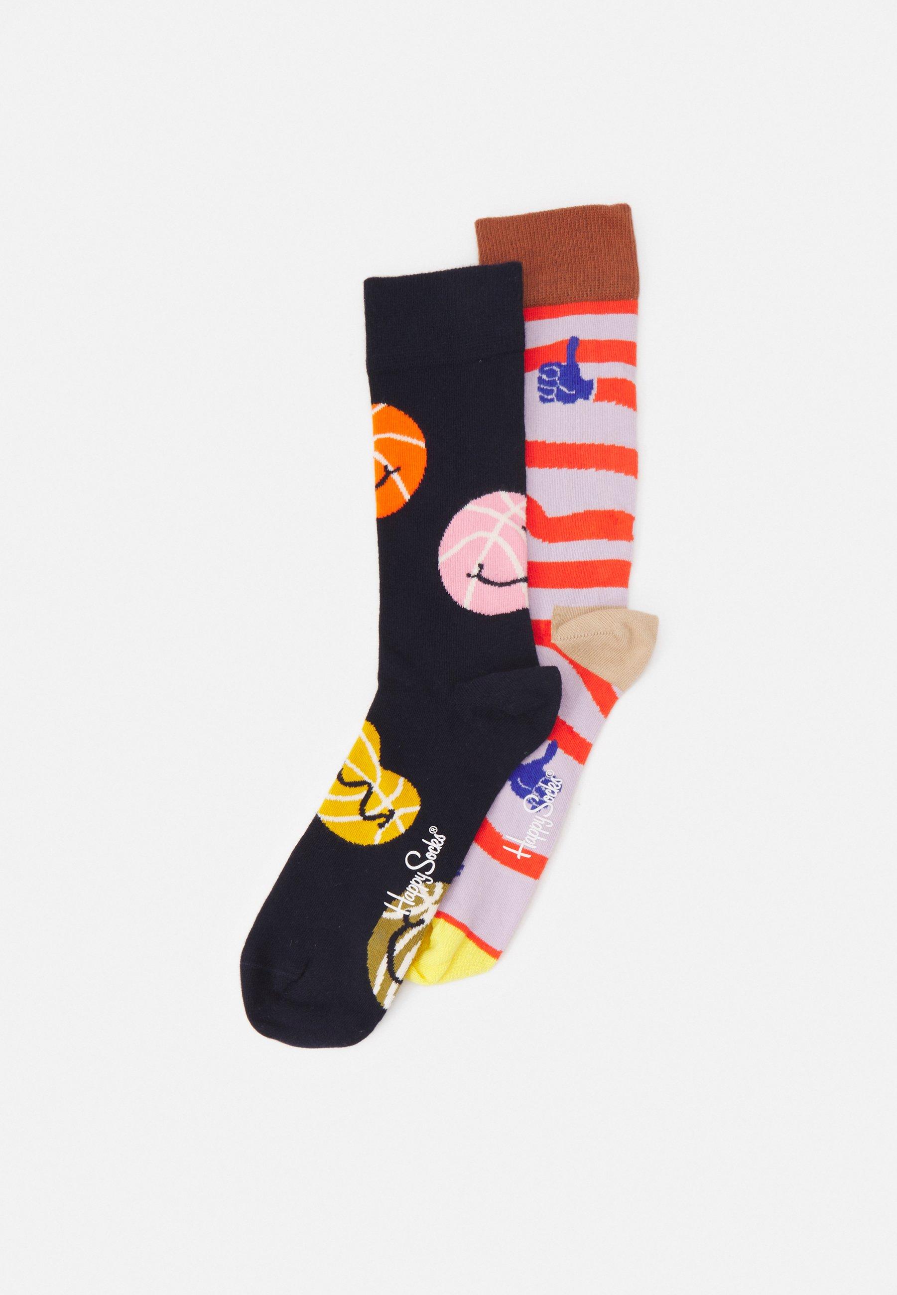 Men BALLS YAAAY 2 PACK UNISEX - Socks