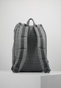 Herschel - RETREAT - Rucksack - raven crosshatch / black rubber - 2