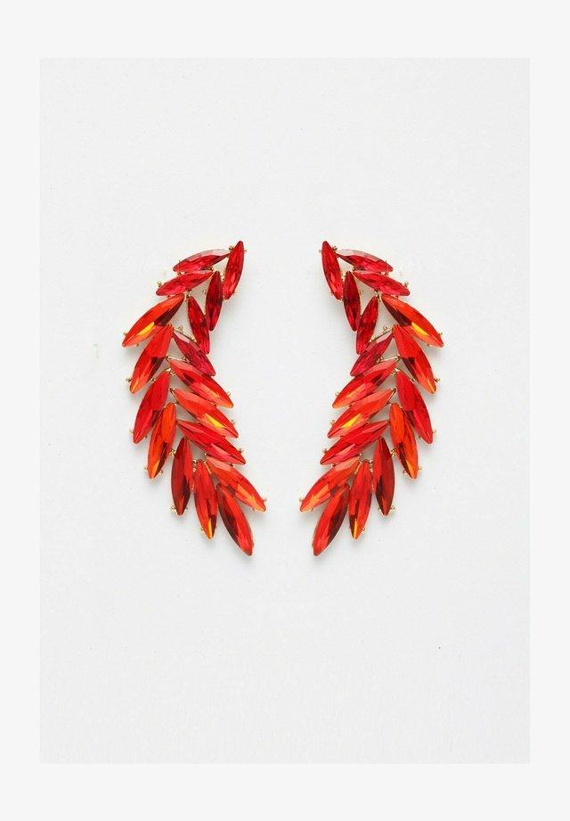Boucles d'oreilles - red