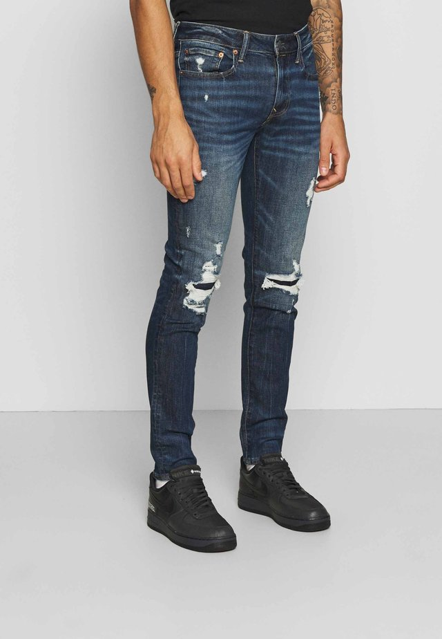 Slim fit jeans - intensely dark