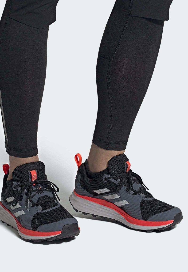 adidas Performance - TERREX TWO GORE-TEX TRAIL RUNNING SHOES - Laufschuh Trail - black