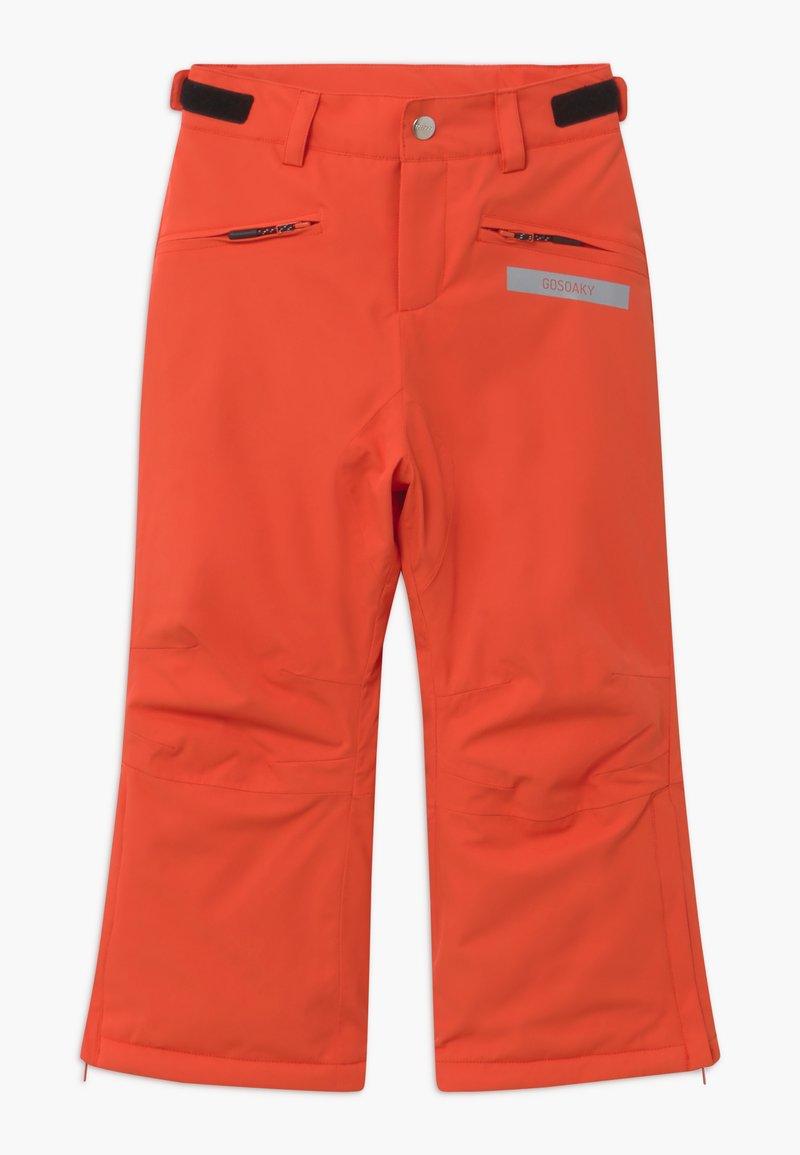 Gosoaky - BIG BAD WOLF UNISEX - Snow pants - spicy red