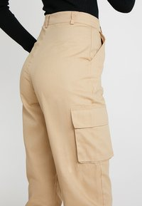 Missguided Tall - PLAIN CARGO TROUSER - Pantaloni - sand - 3