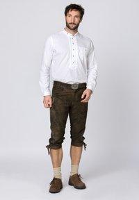 Stockerpoint - Shorts - graphit gespeckt - 0