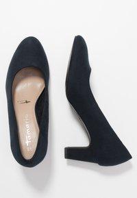 Tamaris - COURT SHOE - Classic heels - navy - 3