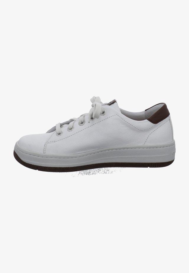 KIM - Sznurowane obuwie sportowe - weiss-kombi