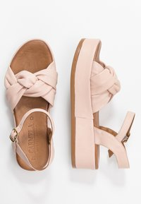 Carmela - Platform sandals - nude - 3