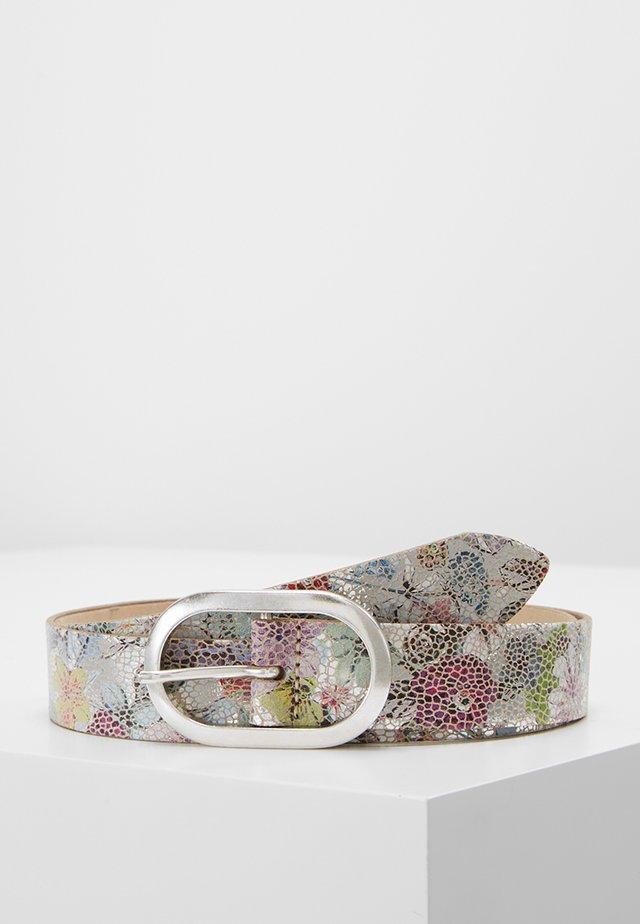 Belt - silber/multi