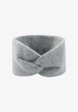 Ear warmers - mélange argent clair