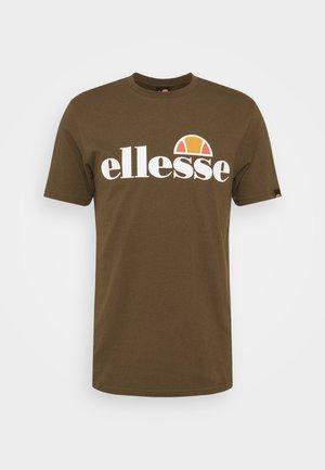 SMALL LOGO PRADO - T-shirt con stampa - khaki