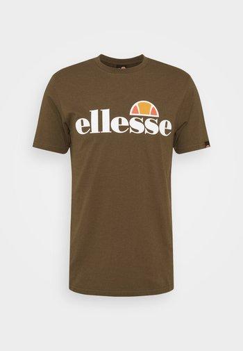 SMALL LOGO PRADO - Print T-shirt - khaki