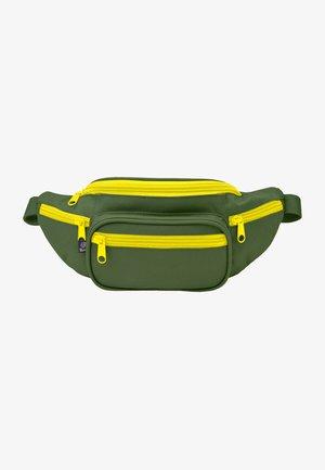 Bum bag - olive/yellow