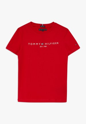 ESSENTIAL TEE  - Print T-shirt - red