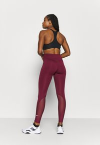 Nike Performance - ONE 7/8  - Leggings - dark beetroot - 2
