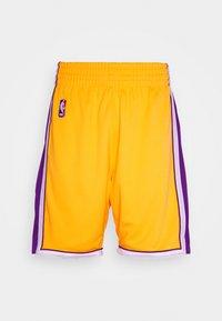 Mitchell & Ness - LA LAKERS NBA AUTHENTIC - Short de sport - light gold - 4