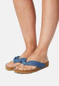 Pepe Jeans - OBAN TUBULAR - Sandály s odděleným palcem - azzurro - 0