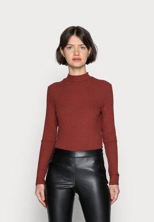 LANGARMSHIRT BASIC - Long sleeved top - red