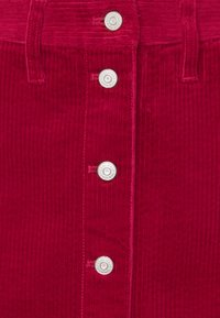 Tommy Jeans - BUTTON SKIRT - Mini skirt - wine red - 3