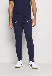 Nike Performance - FRANKREICH FFF PANT - National team wear - blackened blue/white - 0