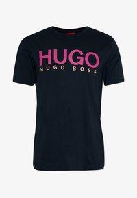 HUGO - DOLIVE - T-shirt print - dark blue - 3