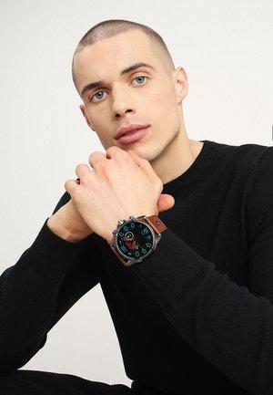 FULL GUARD - Smartwatch - blau/braun