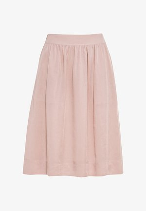 Pleated skirt - zartrosa