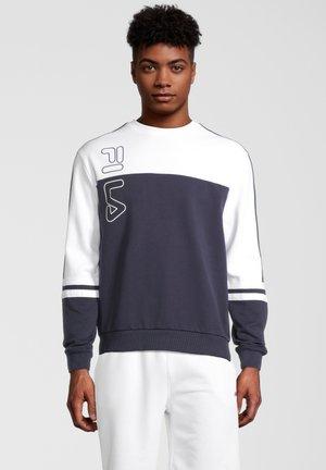 Sweater - black iris-bright white