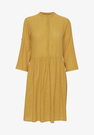 FRJASLUB - Skjortekjole - harvest gold