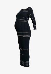 Žerzejové šaty - salute/off white