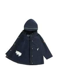 Töastie - COASTAL WOODLAND - Waterproof jacket - dark blue - 1