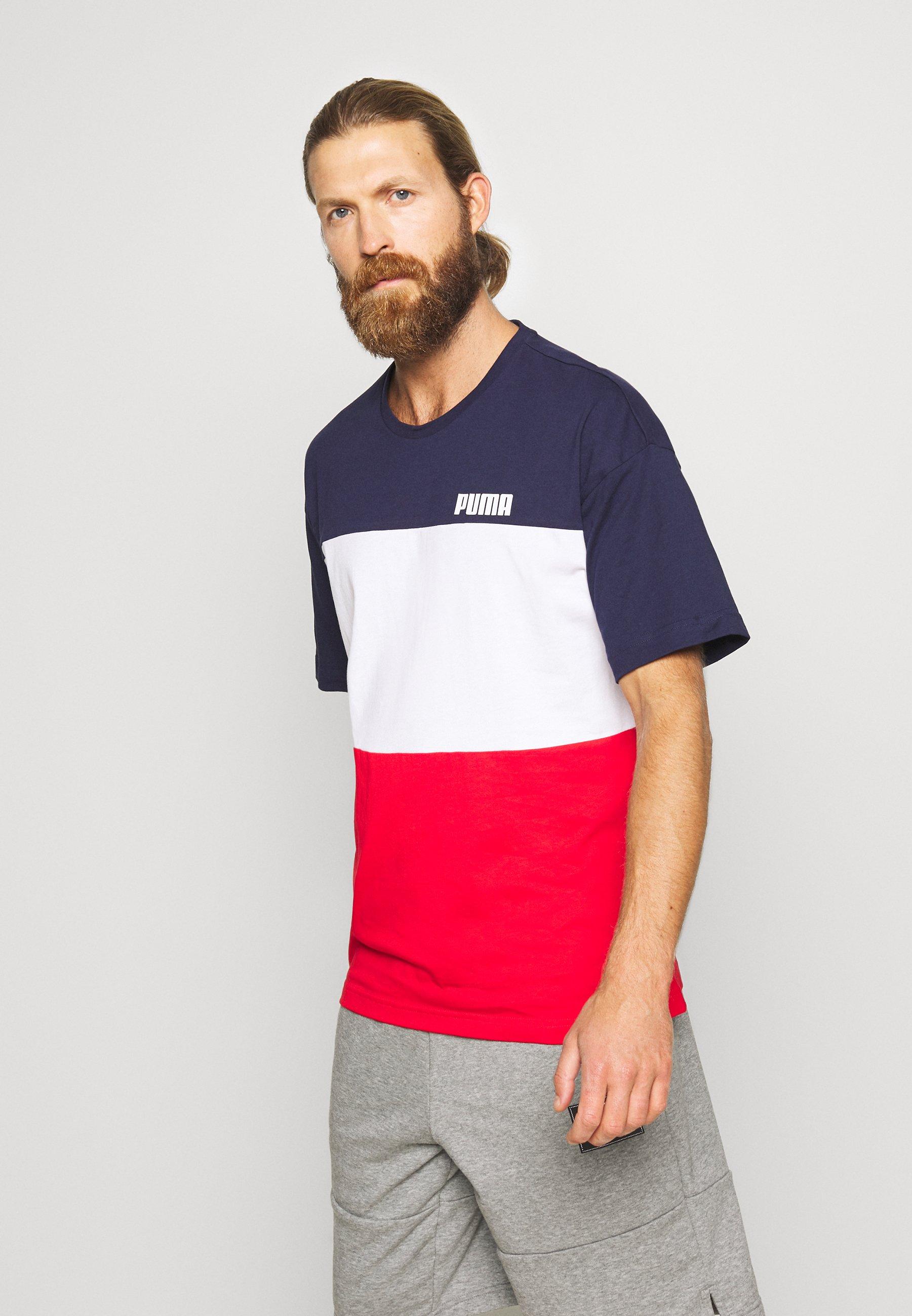 Hombre CELEBRATION COLOUR BLOCK TEE - Camiseta estampada