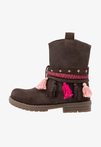 Gioseppo - Cowboy/biker ankle boot - chocolate - 1