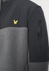 Lyle & Scott - POLARTEC THERMAL  - Fleece jacket - rock grey - 3