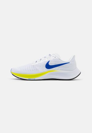 AIR ZOOM PEGASUS 37 - Neutral running shoes - white/racer blue/cyber/black/pure platinum