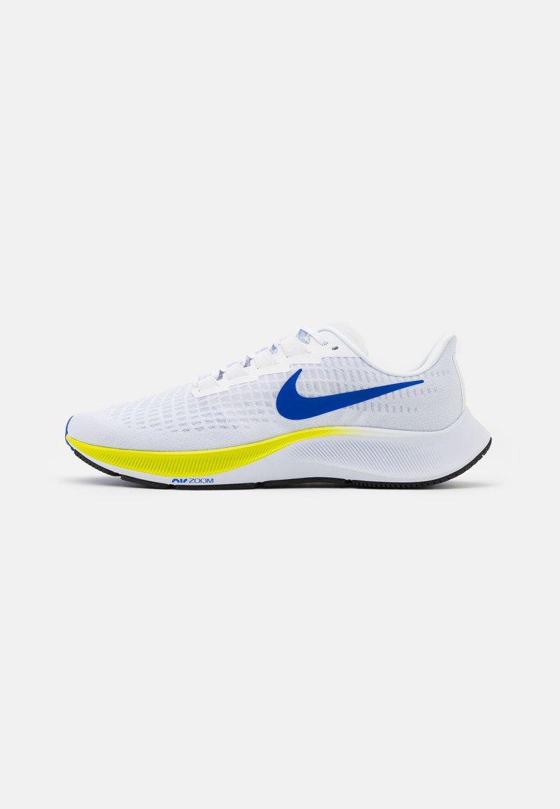 Nike Performance - AIR ZOOM PEGASUS 37 - Neutrala löparskor - white/racer blue/cyber/black/pure platinum