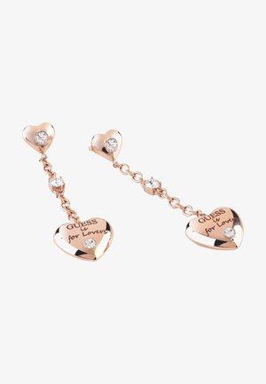 Earrings - rose goldenfarbe