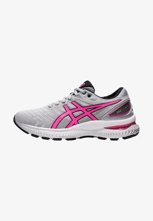 GEL-NIMBUS 22 - Neutral running shoes - piedmont grey/hot pink