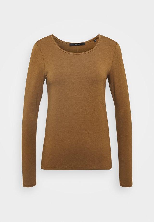 KALIA - Camiseta de manga larga - roasted hazel