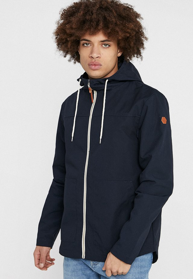 HOODED JACKET - Korte jassen - navy