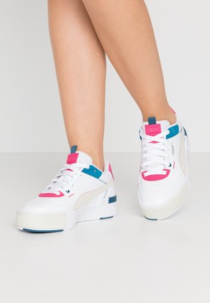 CALI SPORT MIX - Sneakers basse - white/vaporous gray/digi/blue