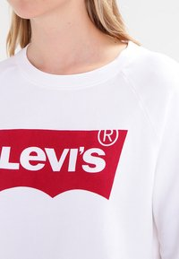 Levi's® - RELAXED GRAPHIC CREW - Bluza - better batwing white - 4