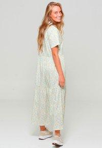 Noella - Maxi dress - yellow blue flower - 1
