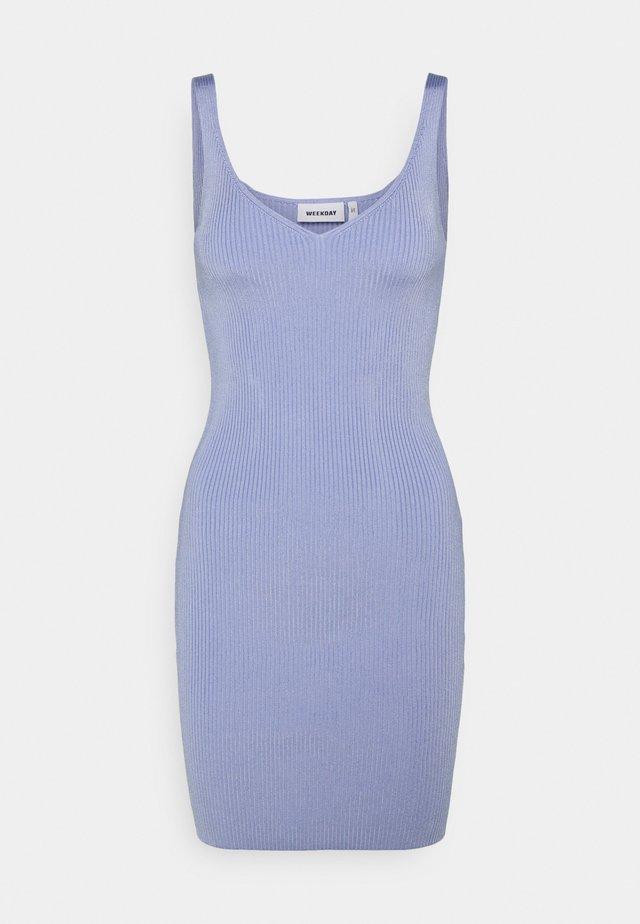 DRESS - Strikkjoler - blue