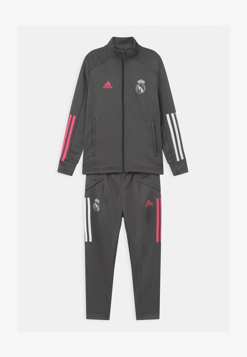 adidas Performance - REAL MADRID FOOTBALL SET UNISEX - Club wear - grey