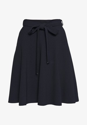 ROMELLI - A-line skirt - open blue