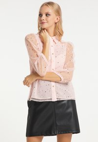 myMo at night - Button-down blouse - rosa - 0