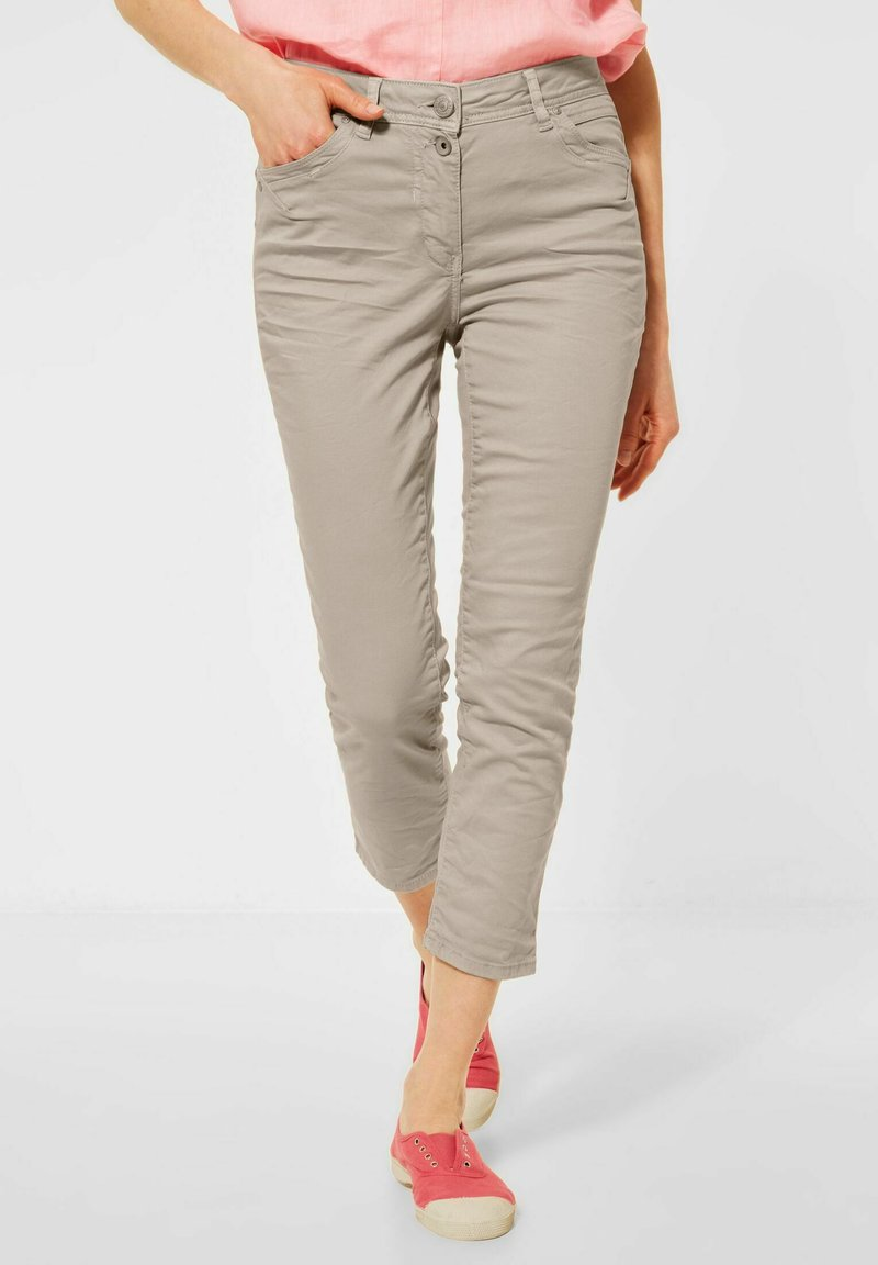 Cecil - Trousers - beige