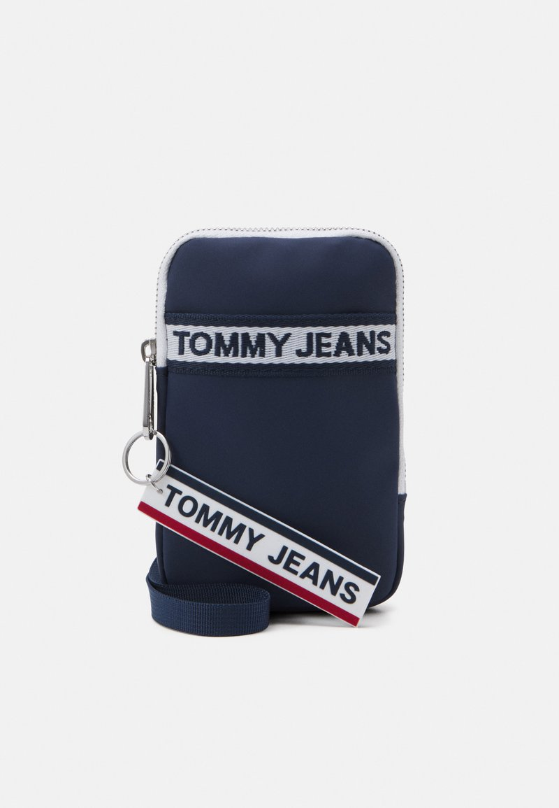 Tommy Jeans - LOGO TAPE HANGING UNISEX - Wallet - twilight navy
