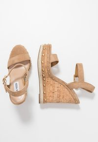 Steve Madden - MAURISA - High heeled sandals - tan - 3