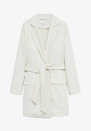 MUNICH-I - Classic coat - ecru